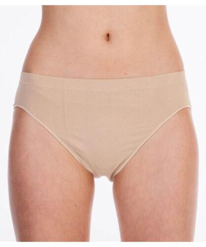 Silky Womans Dance Ballet Seamless High Cut Briefs Underwear Knickers Nude