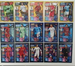 2019/20 Match Attax Extra - 100 Clubs, Champion, Title Winners, Limited Edition