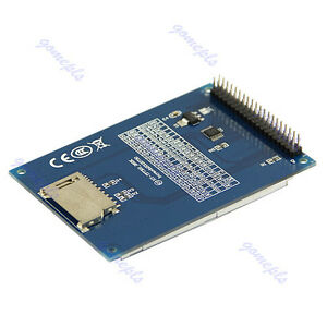 Card-Socket-240X320-3-2-034-TFT-LCD-Module-Display-Touch-Panel-PCB-Adapter-SD