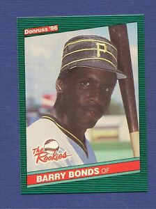 Details About 1986 Barry Bonds Donruss The Rookies Baseball Card
