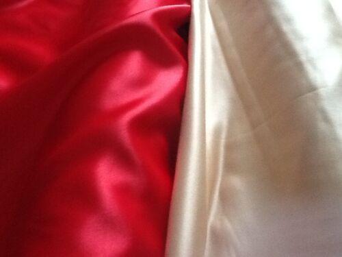 "Superior quality Dull Duchess satin fabric for prom bridal £7.95//m 1.48cm//58"" w"