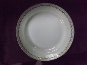 * Grand Plat Creux * Porcelaine De Baudour. De Fuisseaux. * Belgique.vers 1900. RafraîChissant Et BéNéFique Pour Les Yeux