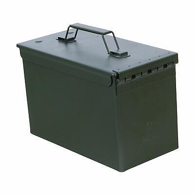 METAL AMMO CAN BOX 50 CAL TALL ARMY SCF M728 FUZE MILITARY 50CAL M2A1