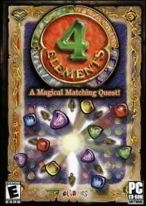 4 Elements PC CD match colored gems magical matching ...