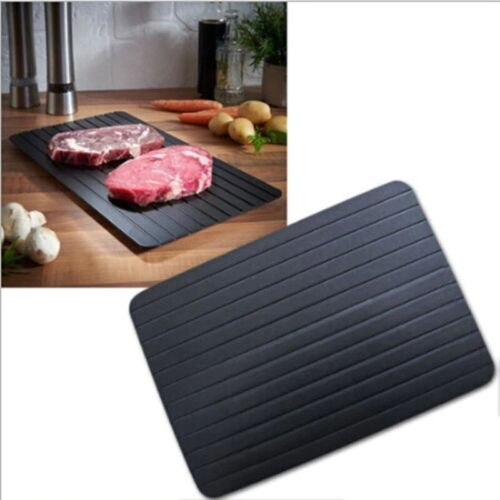 Thaw Master Home Use Fast Defrosting Tray Food Meat Fruit Quick Defrosting Board