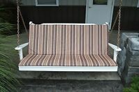 5 Ft Bench, Swing, And Glider Full Cushion Sundown Agora Fabric Multiple Colors