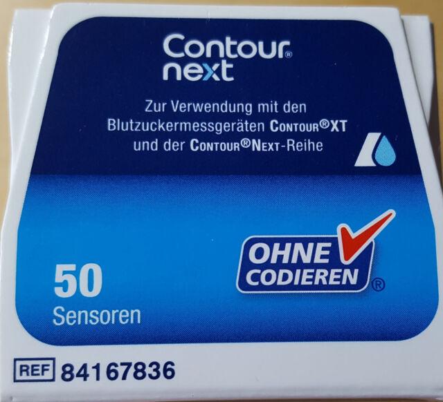 50 Sensoren Contour next von Bayer NEU&OVP MHD 01/2020 ### ALS SOFORT-KAUF ###