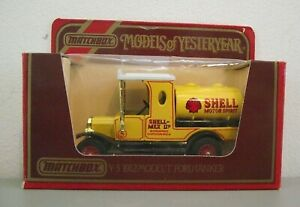 Matchbox Yesteryear Y3 Ford T 'SHELL' Tanker - New & Mint and boxed (MB233)