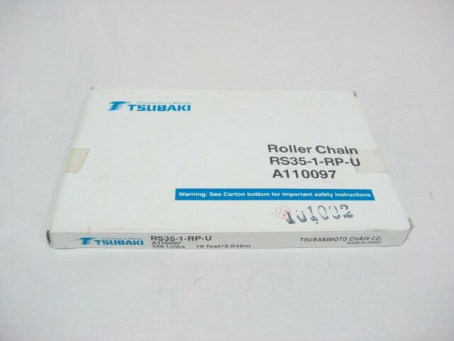 TSUBAKI RS80-1-RP-U NEW A110113 ROLLER CHAIN 120 LINKS RS801RPU