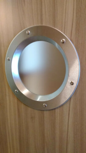 13,78/'/' STAINLESS STEEL EXTERIOR DOOR PORTHOLES 350 mm