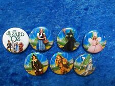 "1"" pinback button set inspired by ""The Wizard of Oz"""