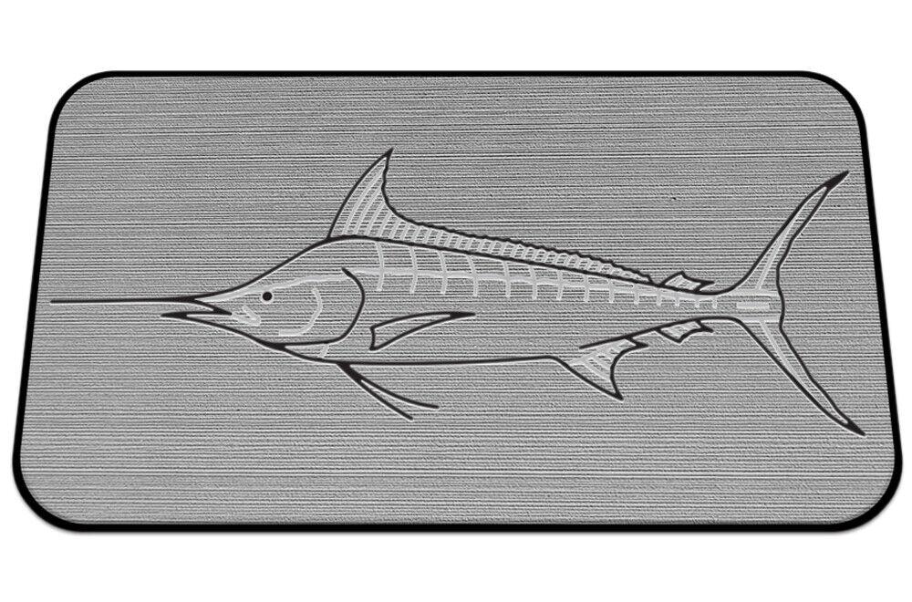 Usatuff Cooler Pad Para Yeti 75qt-SeaDek Marine Eva Mat-gris Negro-Marlin
