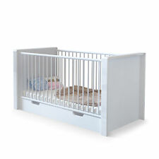 "Baby Crib convertible Bed Junior Children ""Nandini"" in white"