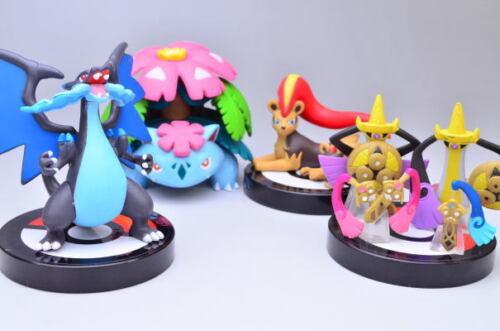 Pokemon Anime Zukan 3D Encyclopedia 1//40 Scale Figure ~ Mega Charizard X @80220