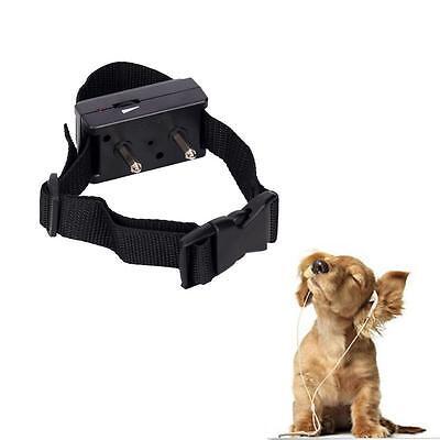 New Barking Anti Bark Dog Pet Adjustable Training Shock Control Collar# P48