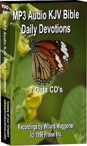 MP3-Daily-Devotional-KJV-Audio-Bible-7-CD-039-s-86hrs-NEW