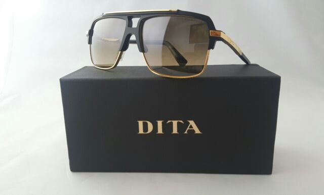 a4fac262fb3 DITA Mach Four DRX 2070 a BLK GLD 61 Sunglasses With Case 61mm for ...