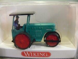 1/87 Wiking Ruthemeyer Straßenwalze grün 898 01 B
