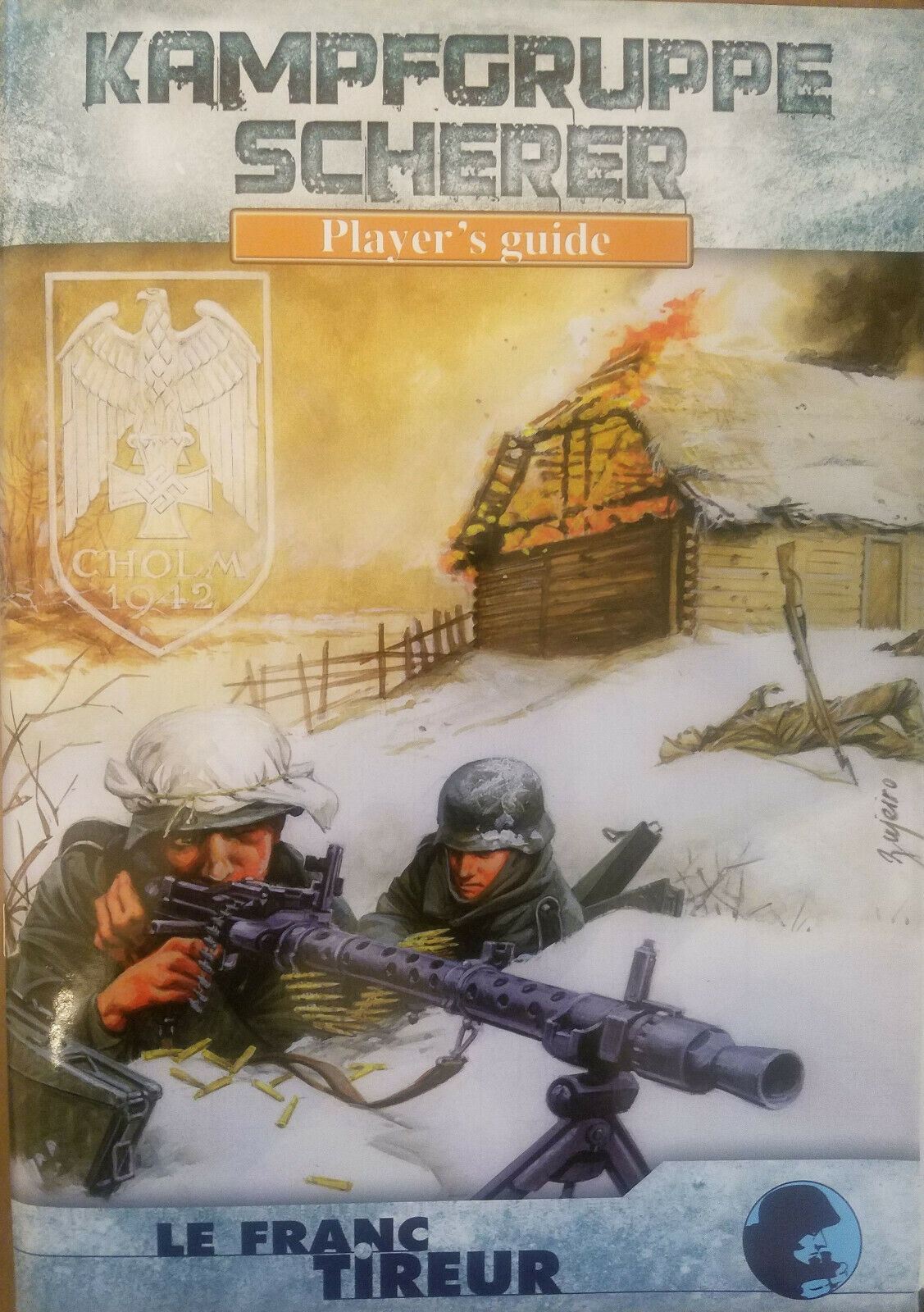 Tumble Advanced Squad Leader Lft Kampfgruppe Scherer, Player's Guide, English