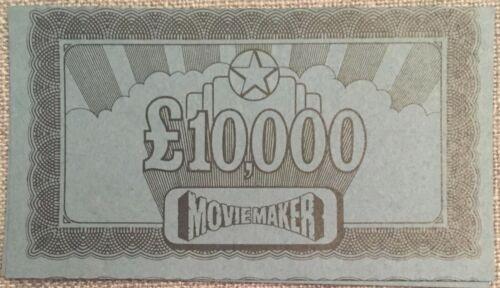 Movie Maker Parker Vintage Board Game De Rechange Pièces et les pièces choisir de menu