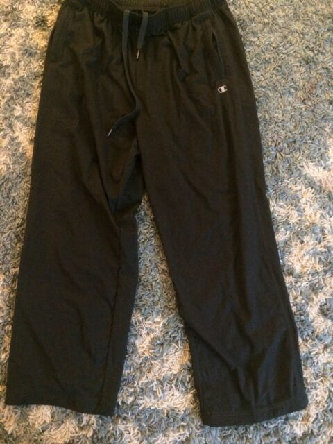 5797bddd3381 Champion Sweat Pants Adult XL Dark Grey Warm Up Jogging Athletic Pants