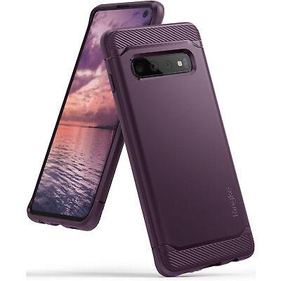 Samsung Galaxy S10/S10 Plus/S10 E Ringke [Onyx Purple] TPU Shockproof Cover Case