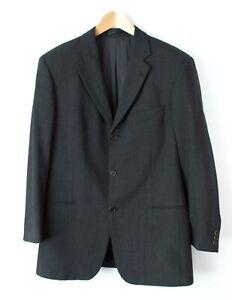 Hugo-Boss-Hommes-Einstein-Sigma-100-Laine-Habille-Veste-Blazer-Taille-50