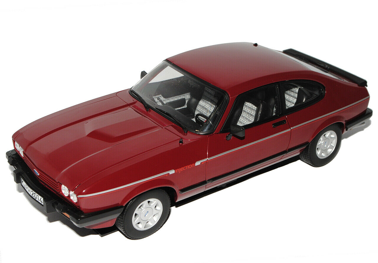 Ford Capri II 2.8i Coupe Rot Braun 1978-1986 1 18 Norev Modell Auto mit oder o..