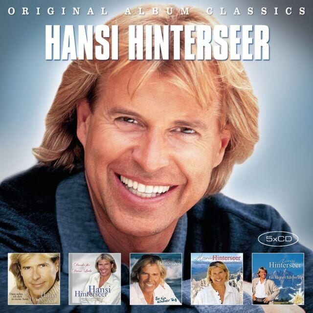HANSI HINTERSEER - ORIGINAL ALBUM CLASSICS  5 CD NEW