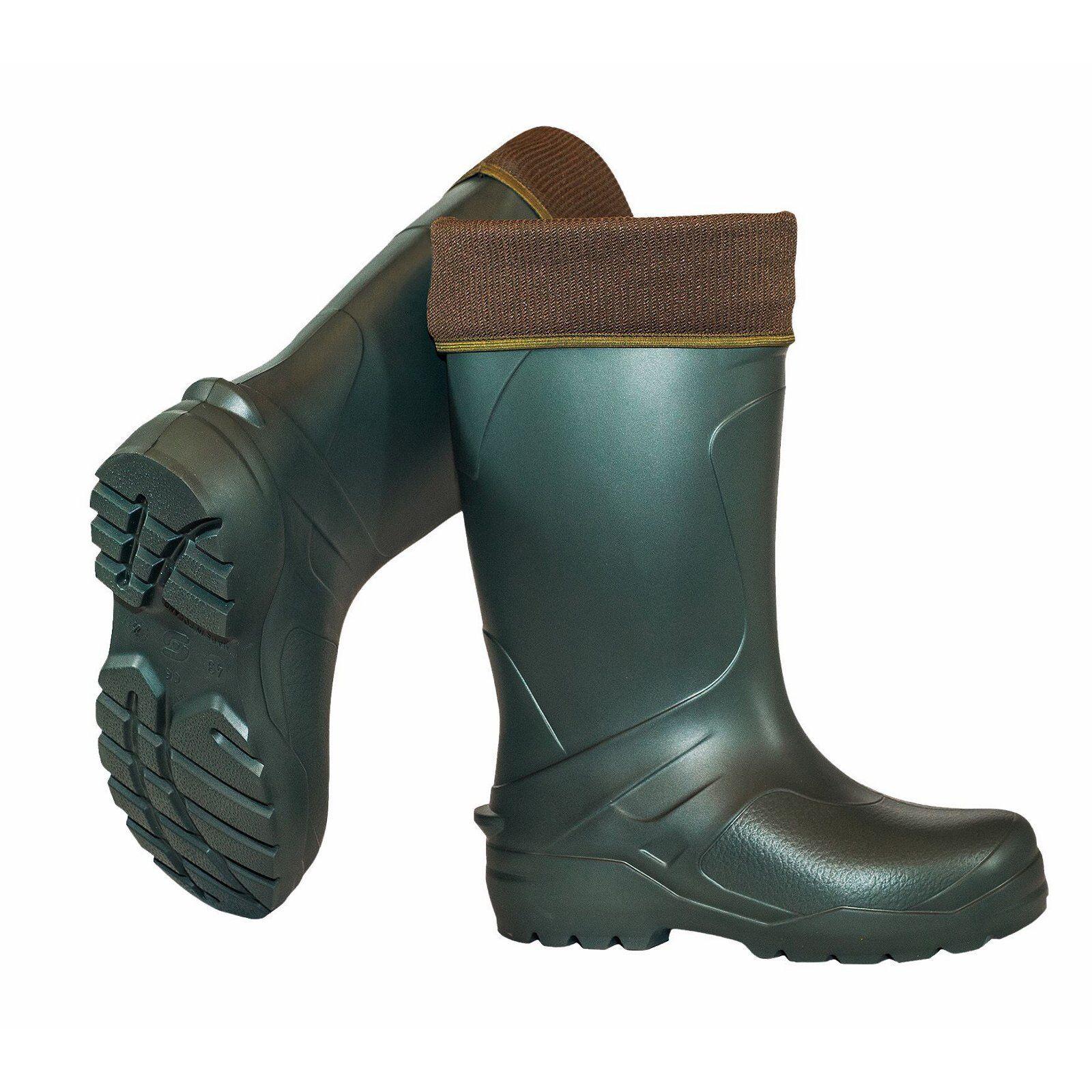 Crosslander gomma Uomo Stivali Vancouver-VERDE - 43 Stivali di gomma Crosslander inverno stivali da uomo b9865c