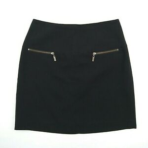 BASQUE-Black-Fully-Lined-Mid-Length-Business-Evening-Skirt-Women-039-s-Size-10-W29