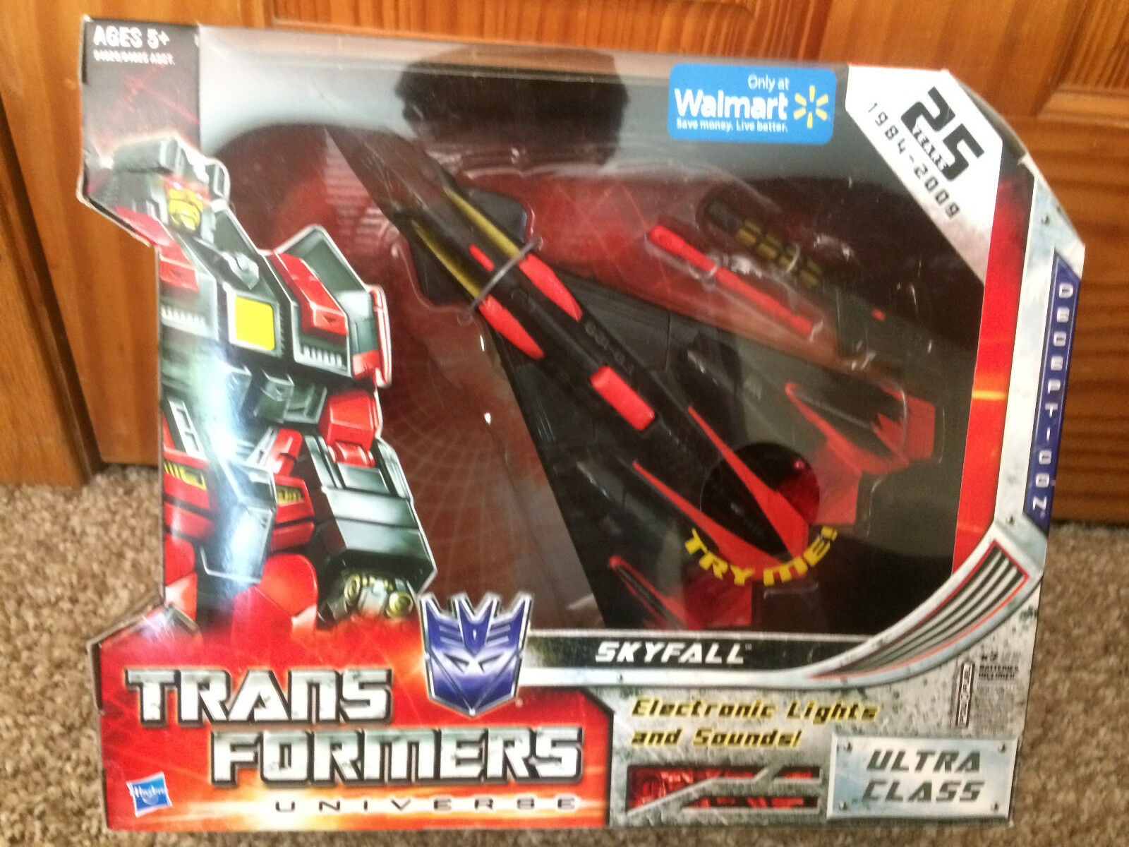 Skyfall Transformers Universe Ultra Class, MINT SEALED MISB, Never Opened