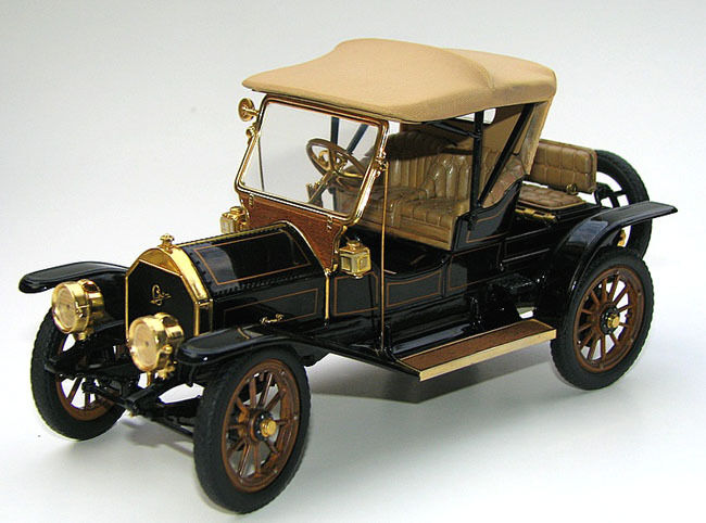 Coche Ford 1 un Deporte Vintage Antiguo T 12 Modelo 24 Classic 43 Metal 18