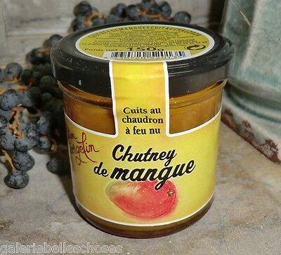 150 g Mango Chutney Georgelin Mangue Aufstrich Frankreich France Dip Paste