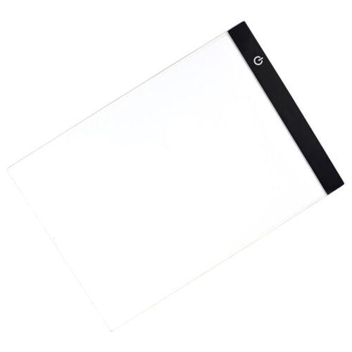 Tavola Luminosa Da Disegno Ricalco Foglio A4//A5 Led Pad Lavagna Cavo Usb