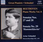 Beethoven: Piano Works, Vol. 8 (CD, Aug-2010, Naxos Historical)