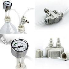 DIY CO2 System Kit D201 Tube Valve Guage Bottle Cap For Aquarium Moss Plant dui