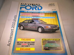 Performance-Ford-Volume2-November-1988-XR3i-Around-Europoe-RS-Cosworth