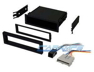 car stereo cd player dash installation kit w wiring harness mustang mach 460 ebay