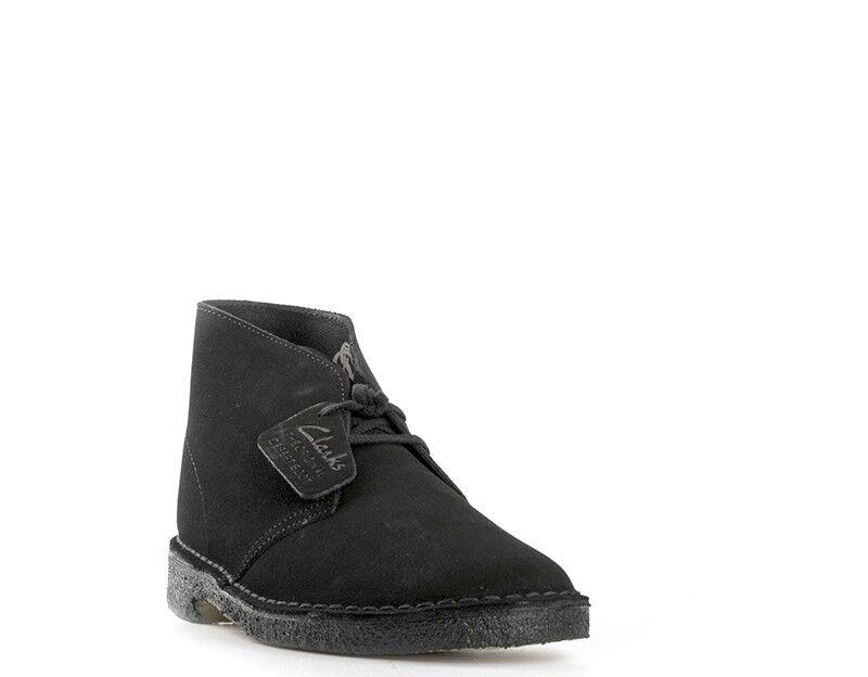 zapatos CLARKS mujer Clark  negro  DESERT bota bota bota D NE 696830