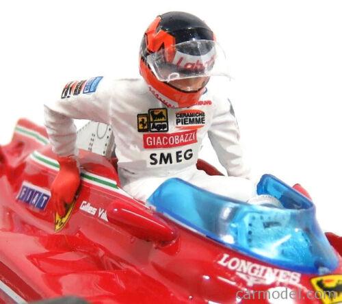 Brumm AS62 Ferrari 312 T5 #2 Italian GP 1980 Gilles Villeneuve 1//43 Scale