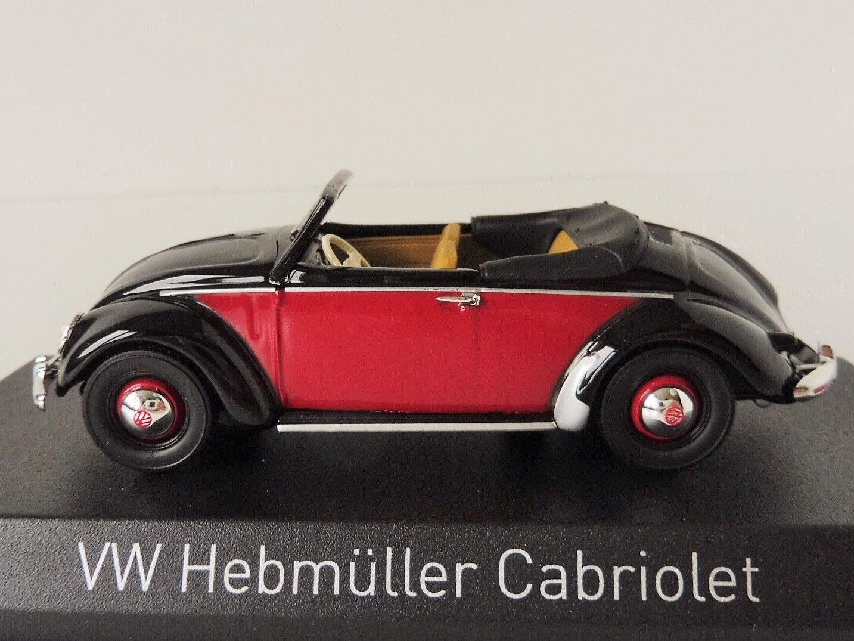 VW Hebmüller Cabriolet 1949 1 43 Norev 840021 Volkswagen Congreenible Beetle