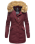 Marikoo-Karmaa-Damen-WinterJacke-Steppjacke-winter-Parka-Mantel-warm-gefuttert miniatuur 34