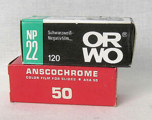 Lot-of-2-Different-120-6x9-Expires-Films-New-Old-Stoks