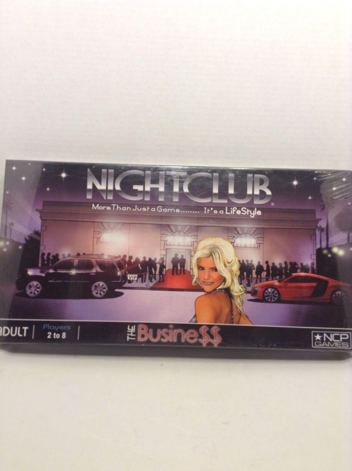 Nightclub The Geschäft Board Game NCP Games - New Sealed VHTF