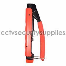 Compression Tool Connector Coaxial Crimper F BNC RCA RG6 RG59 coax cable Wire