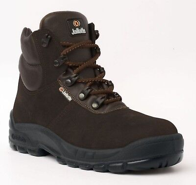 Kenntnisreich Size 6-39 Jallatte Jalhuskey Brown Light Weight Safety Toe Cap Work Boots Eleganter Auftritt Stiefel Herrenschuhe