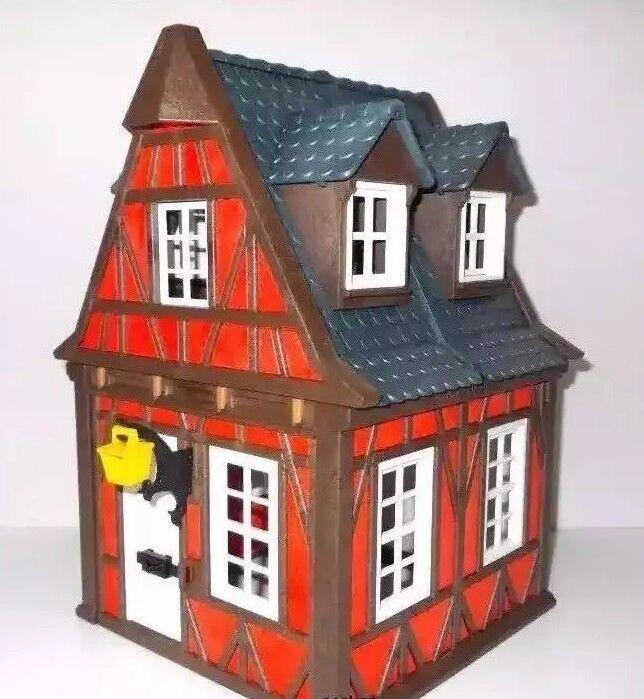 Playmobil & Rotes Fachwerkhaus 7785 Neu & Playmobil OVP Ritterburg Mittelalter Burg Haus bf646e