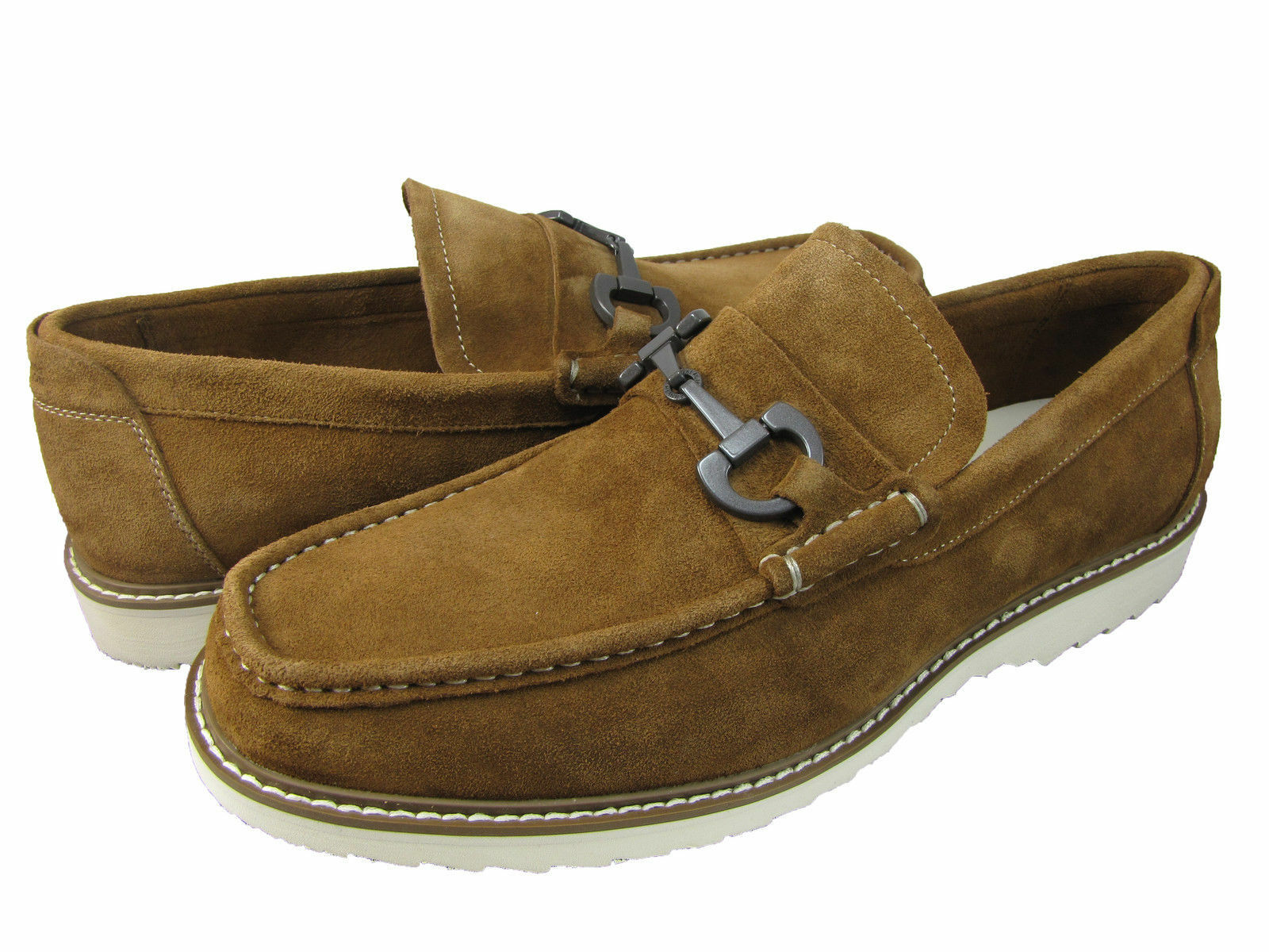 Kenneth Cole Reaction Mens Fair N Square Slip-On Casual Loafers Dress shoes