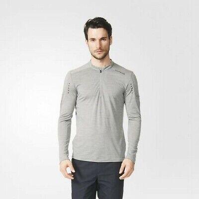 Porsche Design Sport par Adidas Homme 14 Fermeture Tech Laine Haut T Shirt | eBay